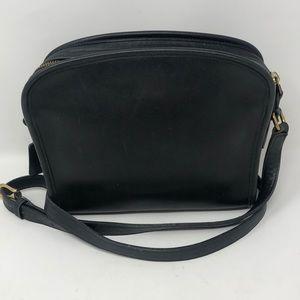 Vintage Coach Purse Black Leather